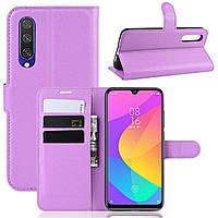 Чохол-книжка Litchie Wallet для Xiaomi Mi A3 / Mi CC9e Violet