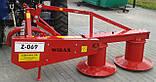 Польская роторная косилка Wirax Z-069 - 1,35 м, фото 3