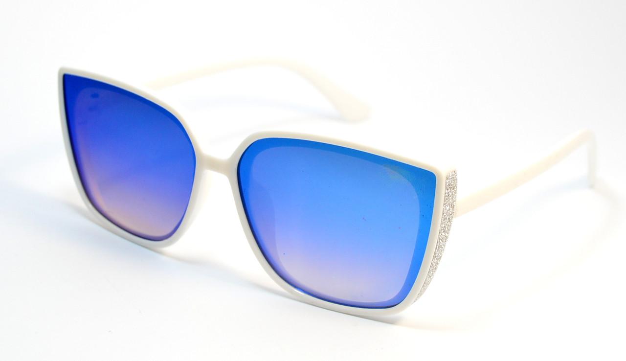 Очки солнцезащитные для девочек (0466 бел)