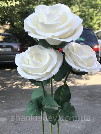 Декор Куст Гигантских Роз Белые Продажа, фото 2