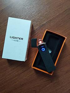 Сенсорна USB запальничка потужна Lighter