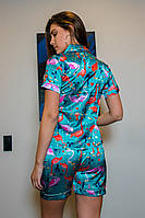 Фламинго с рубашкой бирюзовый, фото 3