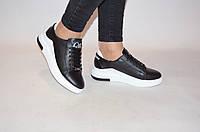 Туфли-мокасины женские Ditas БКН-2 чёрные кожа, фото 1