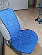 Накидки на сидіння. Повний комплект. Блакитний, фото 2