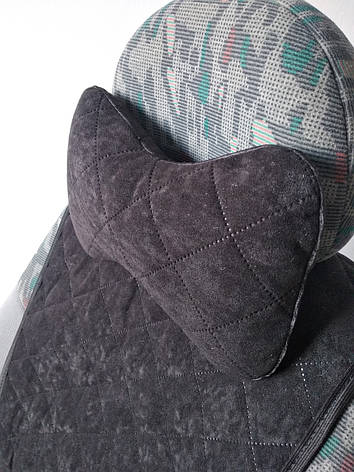 Подушка на подголовник черная, фото 2