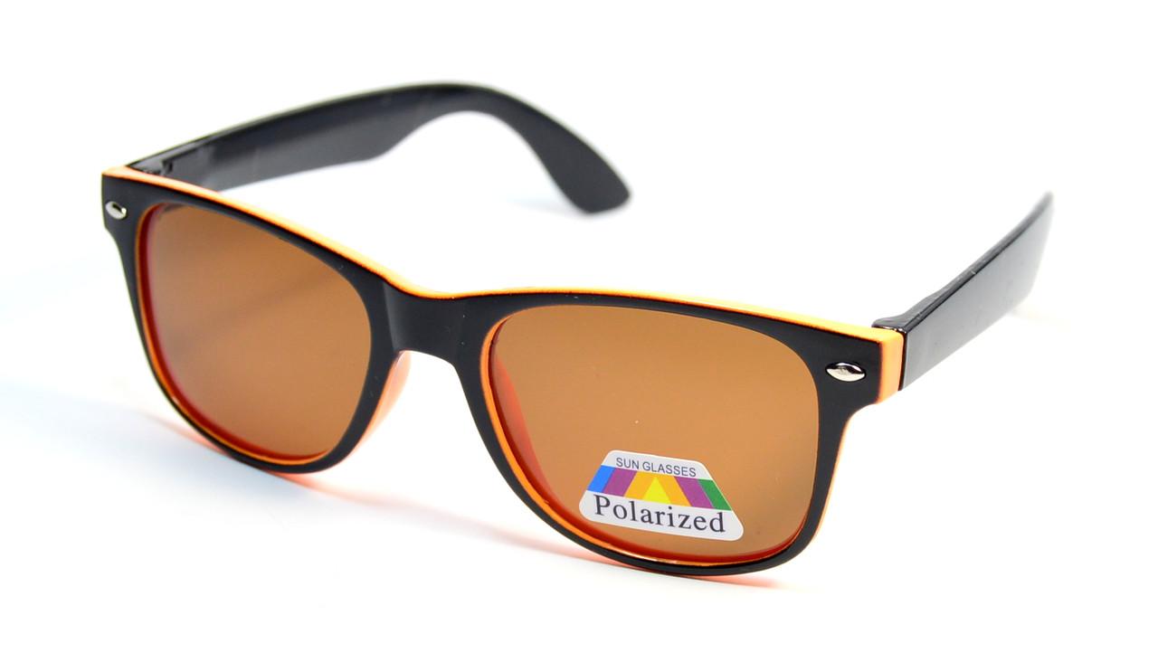 Детские очки Wayfarer Polaroid (Р954 ч-ор)