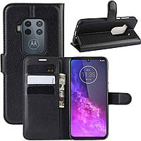 Чехол-книжка Litchie Wallet для Motorola One Zoom Black
