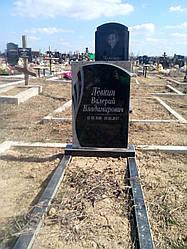 Памятник гранитный одинарный 1-03
