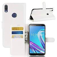 Чехол-книжка Litchie Wallet для Asus Zenfone Max Pro M1 ZB601KL / ZB602KL White