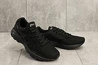 Мужские кроссовки текстильные весна/осень черные Ditof A 728 -1, фото 1