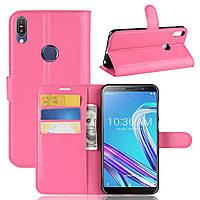 Чехол-книжка Litchie Wallet для Asus Zenfone Max Pro M1 ZB601KL / ZB602KL Rose