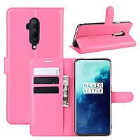 Чехол-книжка Litchie Wallet для OnePlus 7T Pro Rose