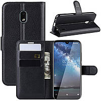 Чехол-книжка Litchie Wallet для Nokia 2.2 Black