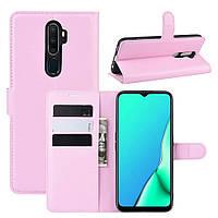 Чехол-книжка Litchie Wallet для Oppo A9 2020 / A5 2020 Pink