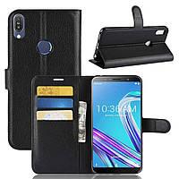 Чехол-книжка Litchie Wallet для Asus Zenfone Max Pro M1 ZB601KL / ZB602KL Black