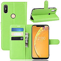 Чехол-книжка Litchie Wallet для Oukitel C13 Pro Green