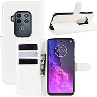 Чехол-книжка Litchie Wallet для Motorola One Zoom White