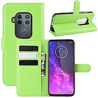 Чехол-книжка Litchie Wallet для Motorola One Zoom Green