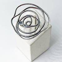 Кільце 3D з срібла 925 Beauty Bar Квітка (розмір 18-19)