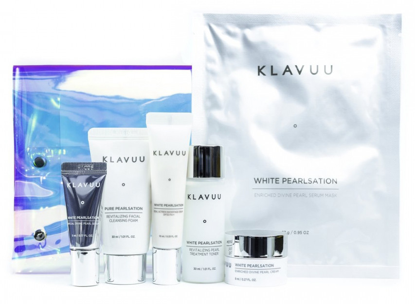 Увлажняющий набор для путешествий Klavuu All-In-One Travel Kit 6