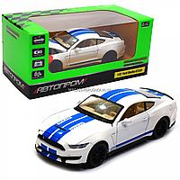 Машинка игровая автопром «Ford Sheldy GT350» 14 см, свет, звук, белый (68441), фото 1
