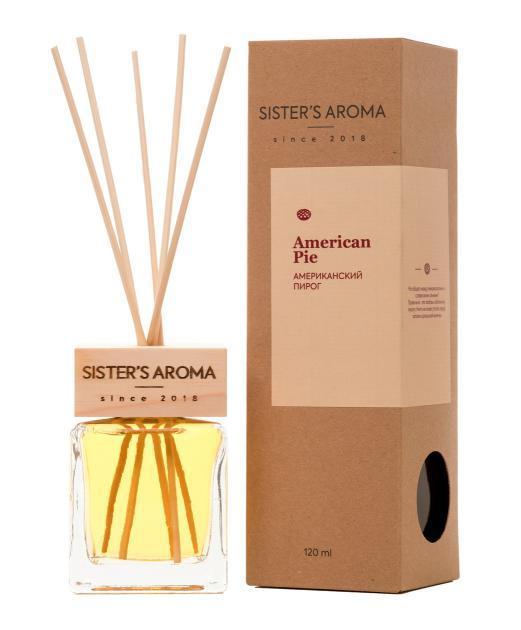 Аромадиффузор Sister's Aroma Американский Пирог 120 мл