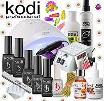 Стартовый набор Kodi Professional для покрытия гель лаком с Лампой SunOne 48 W и Фрезером Lina