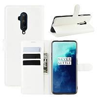 Чехол-книжка Litchie Wallet для OnePlus 7T Pro White