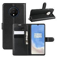Чехол-книжка Litchie Wallet для OnePlus 7T Black