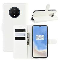 Чехол-книжка Litchie Wallet для OnePlus 7T White