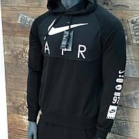 Мужской спортивный костюм Nike черный. Чоловічий спортивний костюм Nike чорний.