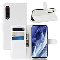 Чохол-книжка Litchie Wallet для Xiaomi Mi 9 Pro / Mi 9 Pro 5G White