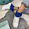 """Демисезонные женские ботинки """"MQ"""" белый натуральная кожа //В НАЛИЧИИ ТОЛЬКО 37 40р, фото 3"""