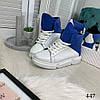 """Демисезонные женские ботинки """"MQ"""" белый натуральная кожа //В НАЛИЧИИ ТОЛЬКО 37 40р, фото 7"""