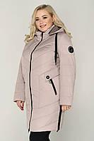 """Женская демисезонная куртка """"Лера"""" большие размеры 50-64"""