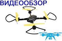 Квадрокоптер Helicute H828HW с камерой Wi-Fi и барометром (чёрный)