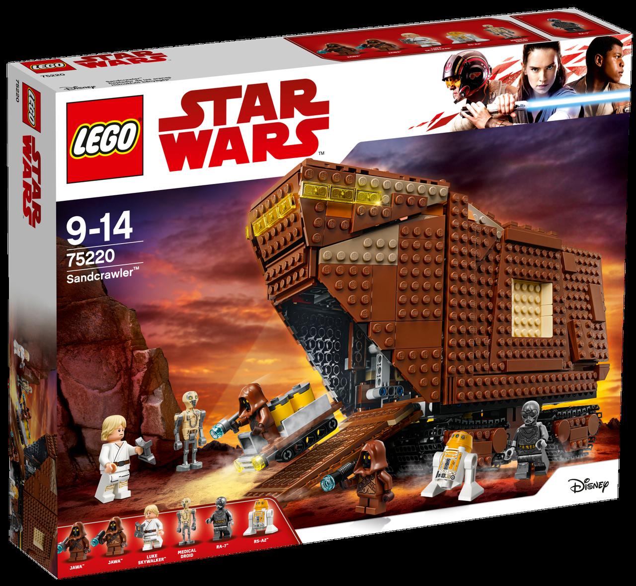 Lego Star Wars Песчаный краулер 75220
