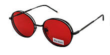 Красивые круглые солнечные очки Blue Classic Polaroid