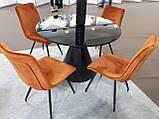Мягкий стул N-76 медный вельвет Vetro Mebel, фото 4