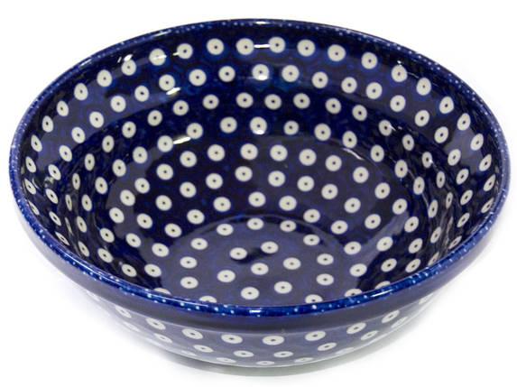 Салатник с рантом G керамический 24 Polka Dot, фото 2