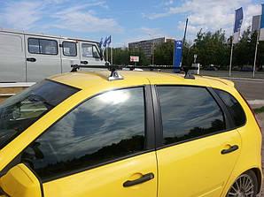 Багажник металевий ВАЗ 1118 Калина, 2190 Гранта. Планки із кріпленням, на гладкий дах