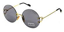 Круглые очки от солнца новая коллекция 2020 Blue Classic Polaroid