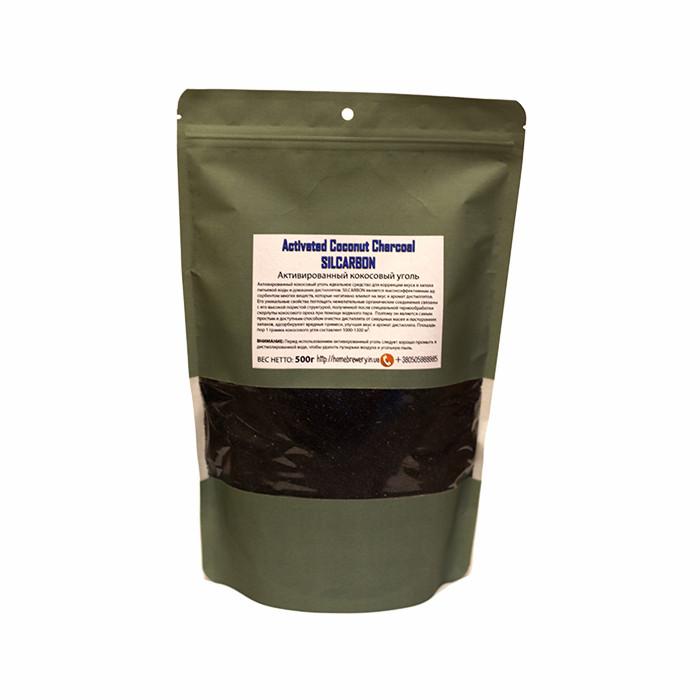 Уголь кокосовый активированный для очистки дистиллятов 500г (Германия)