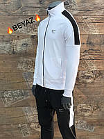 Мужской спортивный костюм Nike белый. Чоловічий спортивний костюм Nike білий.