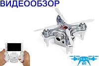 Квадрокоптер нано р/у Cheerson CX-10WD-TX с камерой Wi-Fi (серый)