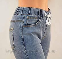 Джинсы женские стрейч в хороших размерах 28 - 33  Джеггинсы Натали - полубатал, фото 3