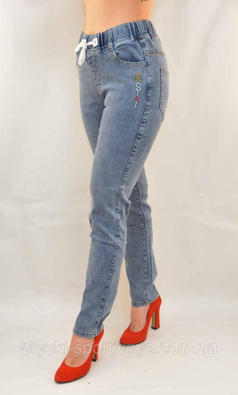 Джинсы женские стрейч в хороших размерах 28 - 33  Джеггинсы Натали - полубатал