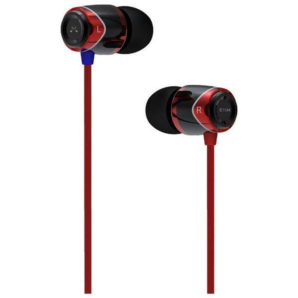 SoundMAGIC E10 Red Наушники IEM Вакуумные