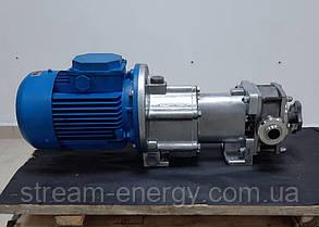 Роторный насос В3-ОР2-А-2-01 (2м3/ч) 2-х лепестковый