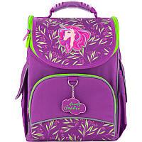 Ортопедический рюкзак в школу фиолетовый для девочки Kite Education Lovely Sophie для начальной школы